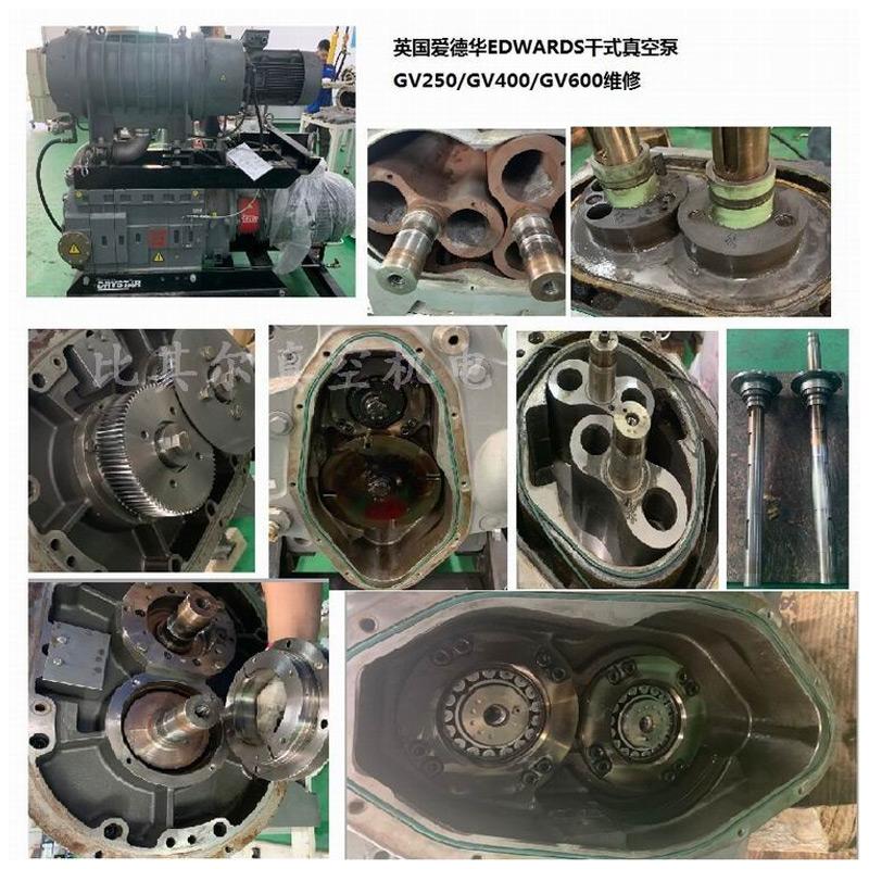 爱德华Edwards GV600干式真空泵维修保养